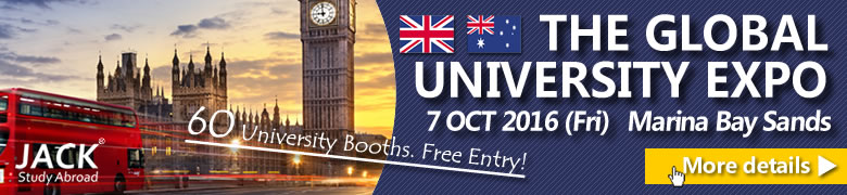 The Global University Expo - 7 Oct 2016 at MBS
